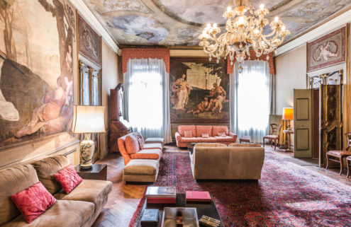 A frescoed apartment in Venice lists for €8.9m