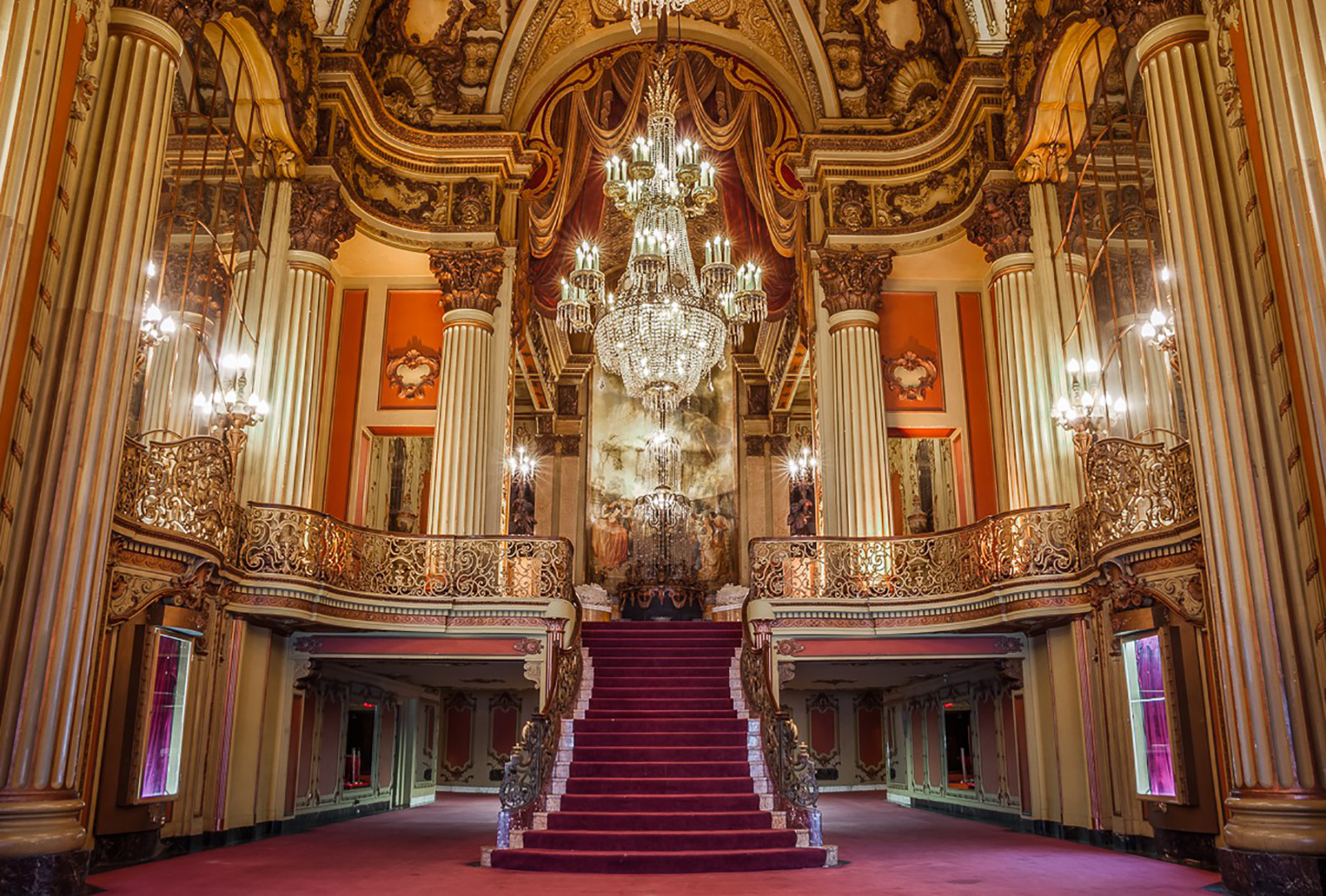 Hail Ceaser set the LA Theatre