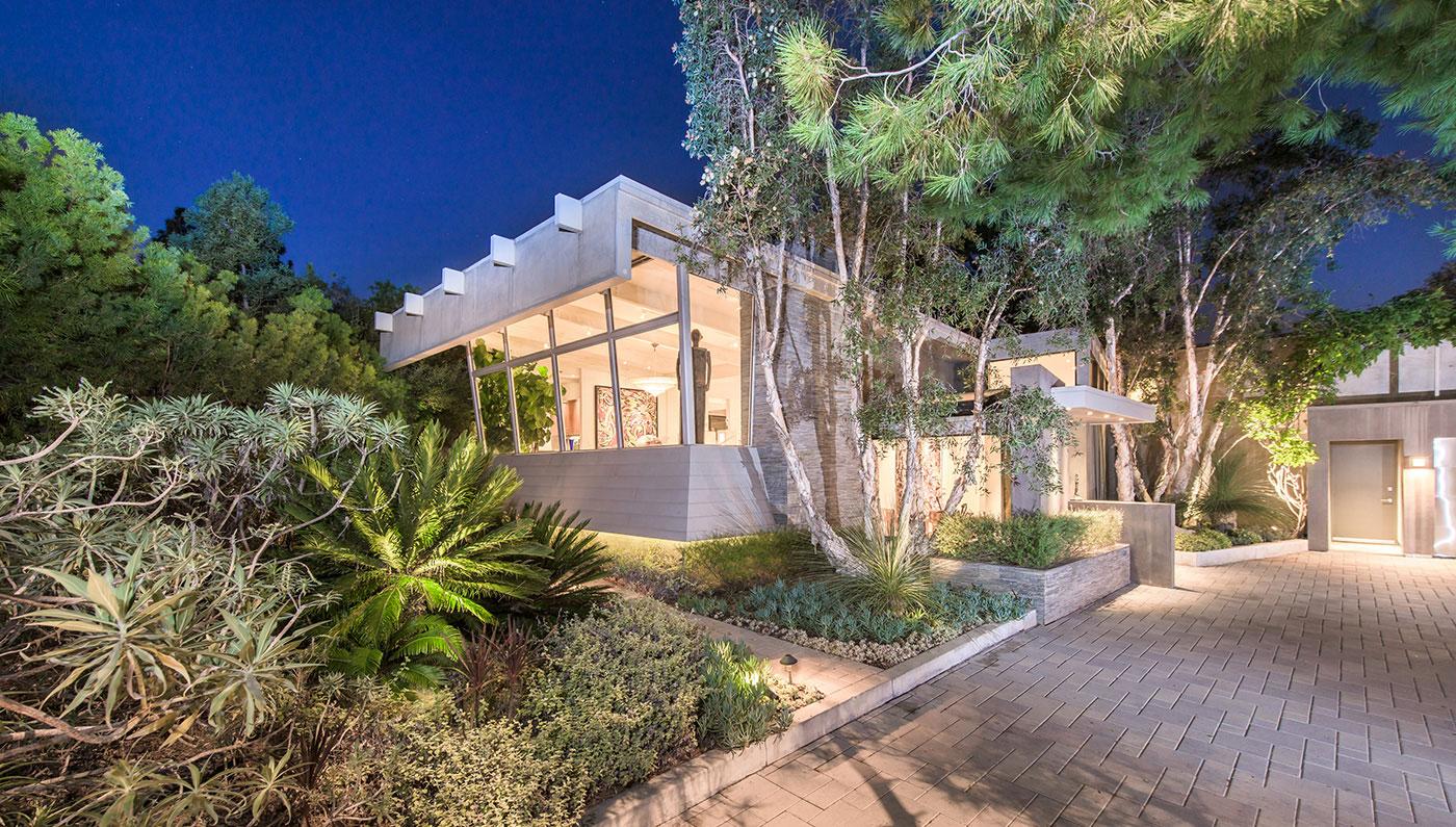 Jane Fonda's home in Beverley Hills