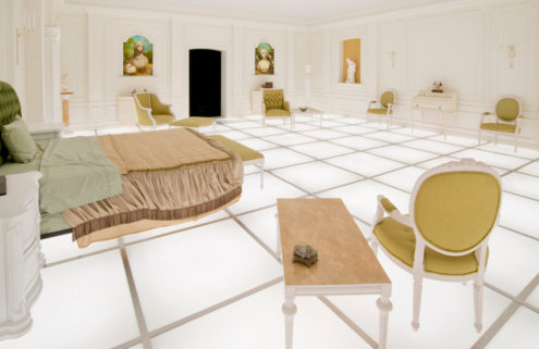 There's a replica set from Kubrick's 2001: A Space Odyssey in downtown LA