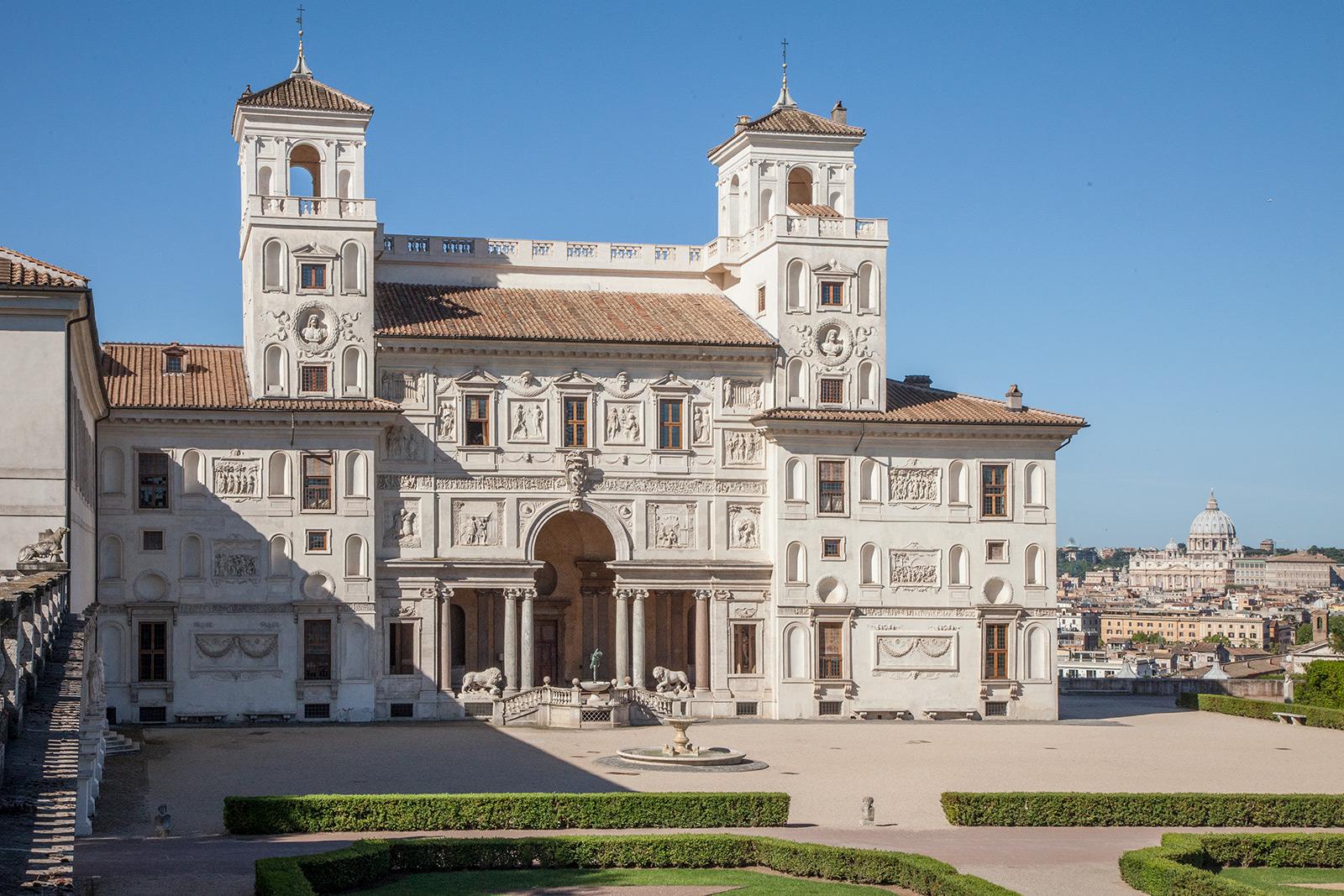 Tour rome in 11 buildings - Villa medicis rome chambres ...