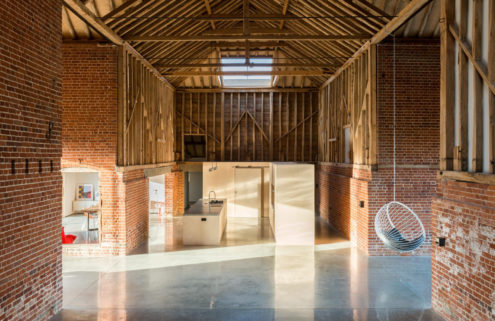Property of the week: a cathedral-like barn conversion in Suffolk, UK