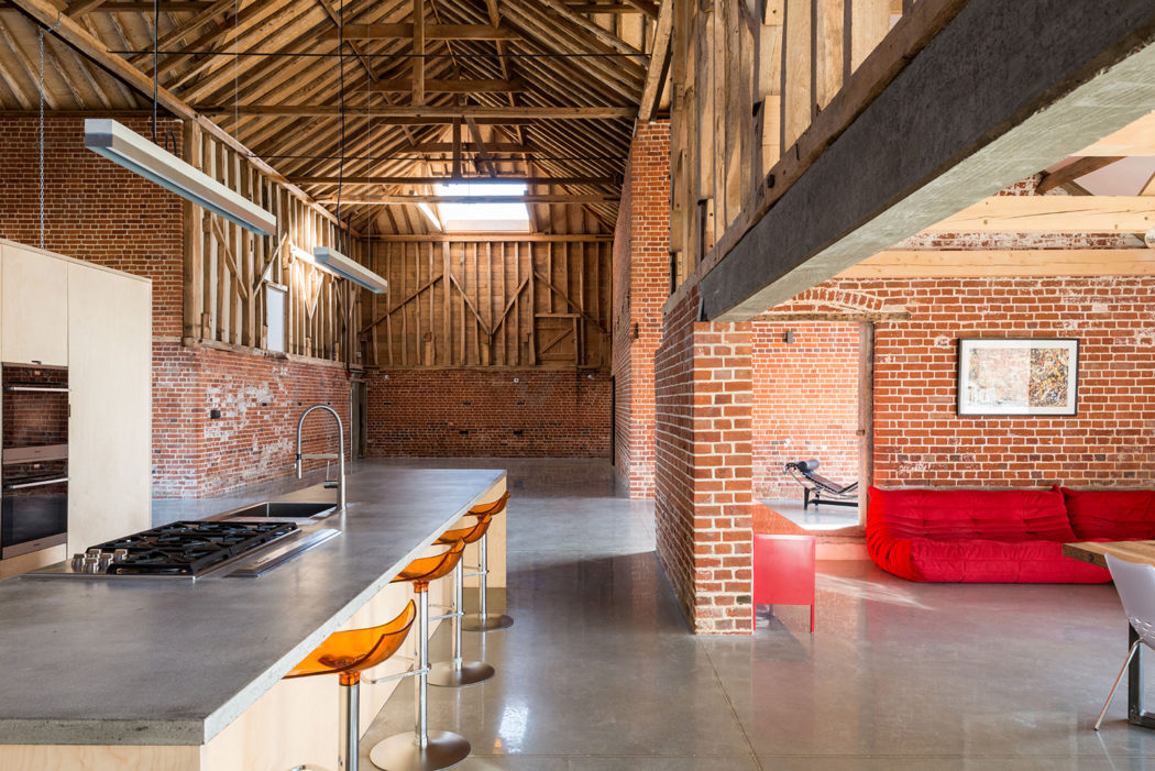 Property Of The Week A Cathedral Like Barn Conversion In