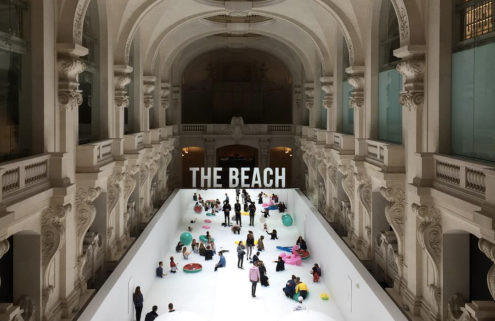 Colette brings Snarkitecture's The Beach to Paris