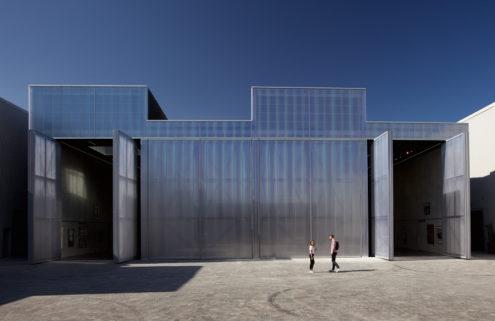 Concrete cultural space by OMA boosts Dubai's arts hub