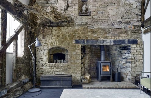 Herefordshire cottage built around a ghostly ruin scoops AJ's Small Projects prize