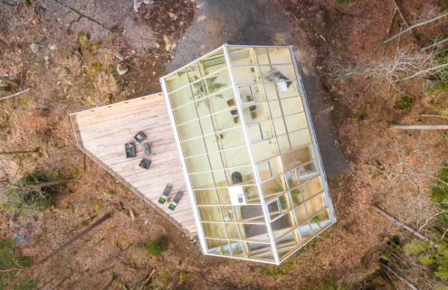 A glass-capped forest home hits the market in Sweden for 11.9m SEK