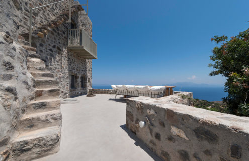 Holiday home of the week: a hilltop house on a little known Greek island