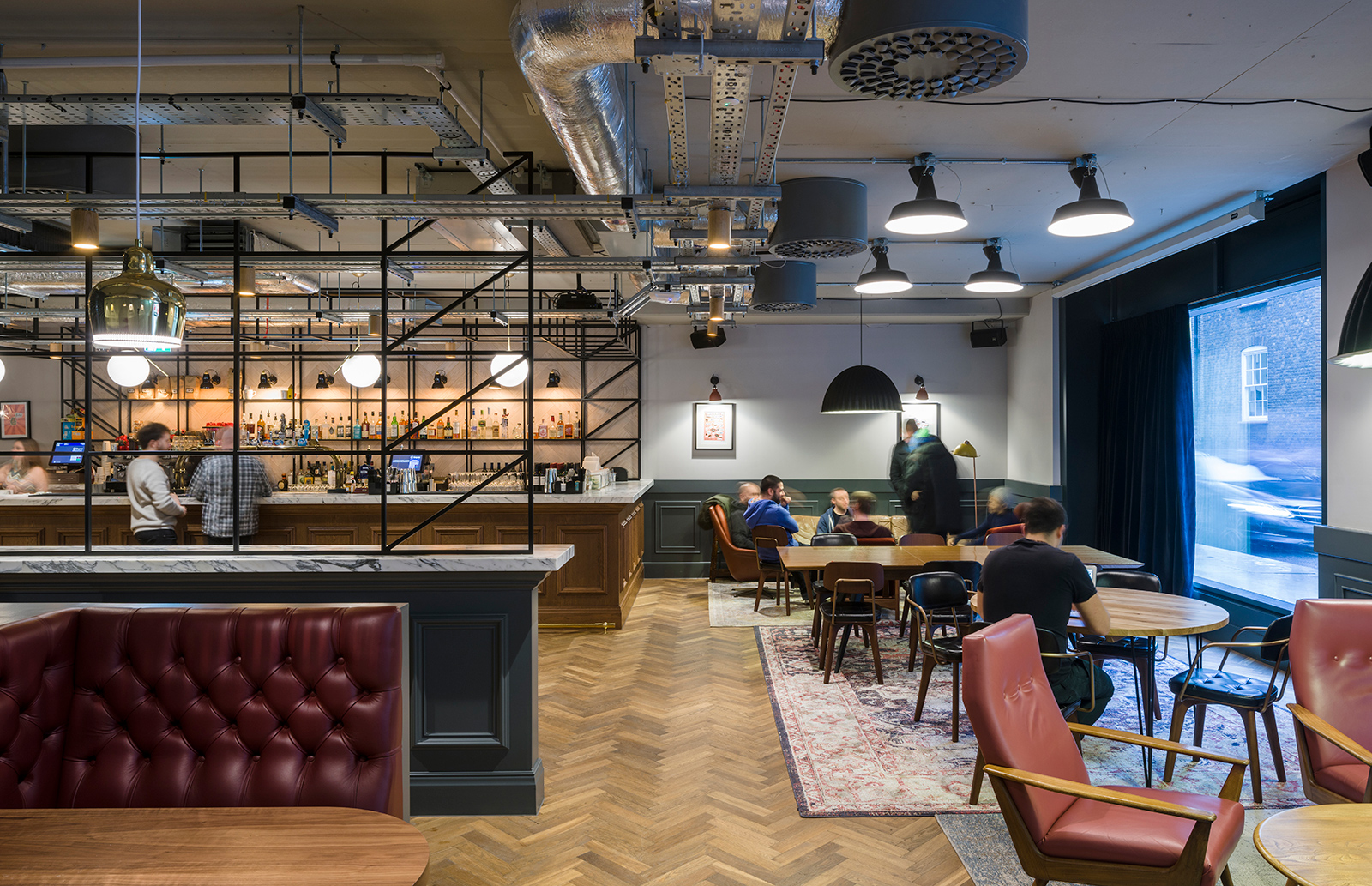 Saatchi & Saatchi's new workspace at 40 Chancery Lane in London
