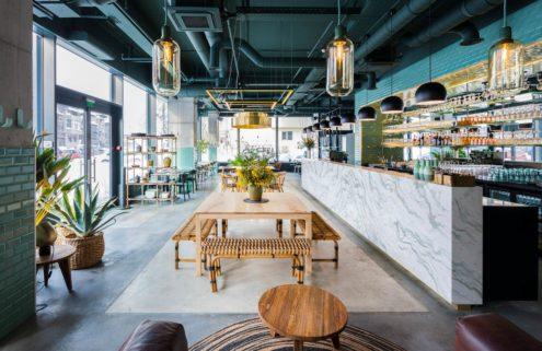 Inside Bucharest's jungle-inspired Kane restaurant