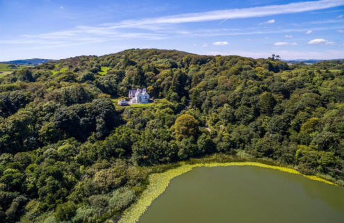 Irish country hotel with Sky Garden by James Turrell lists for €7.5m