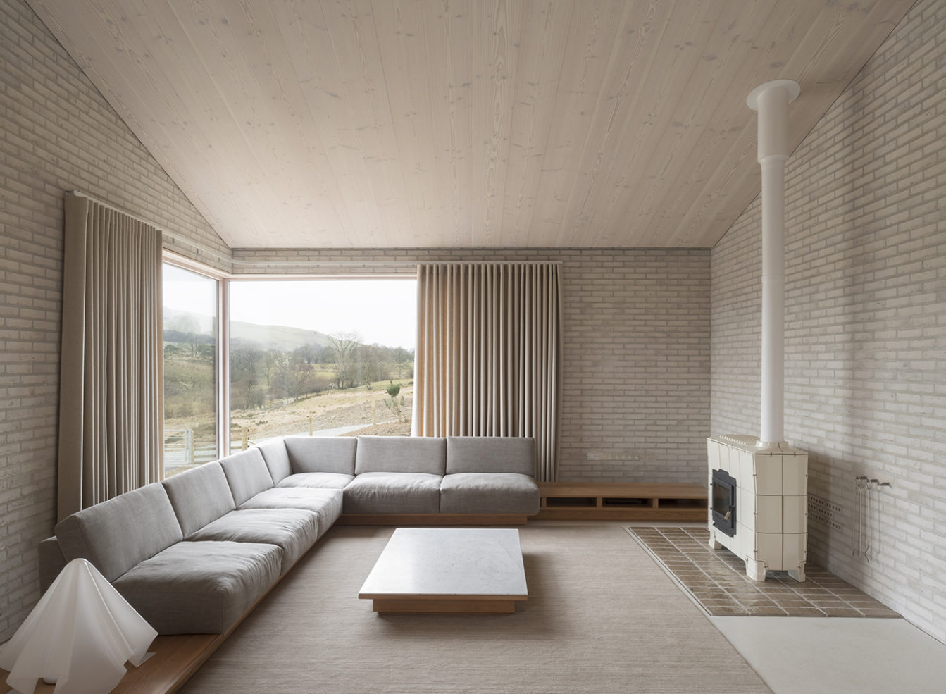 Tŷ Bywyd in Wales by John Pawson. Photography: Gilbert McCarragher / Living Architecture