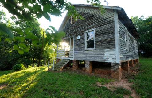Artists unite to save Nina Simone's birthplace