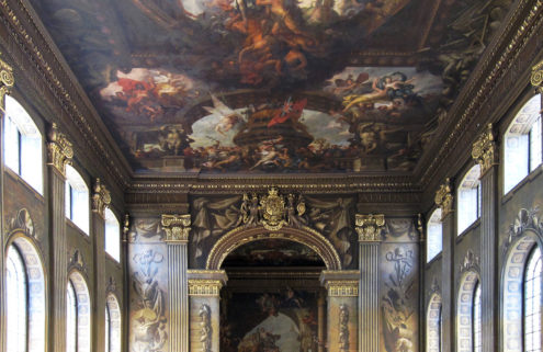Get up close and personal with Greenwich's Painted Hall