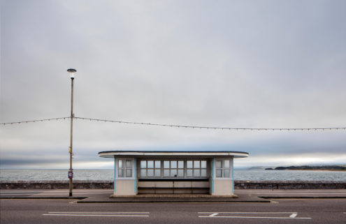 Photographer Will Scott shoots Britain's endangered seaside shelters