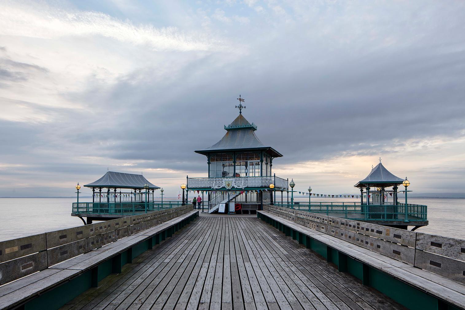 Seaside shelters series by Will Scott