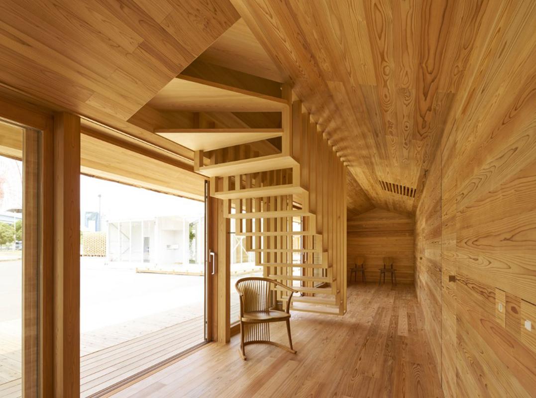 Airbnb's Yoshino Cedar House