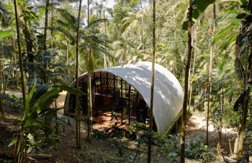Holiday home of the week: a forest hideaway in Brazil