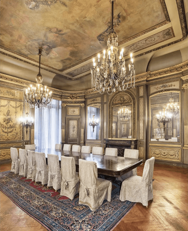 Mansion Dining Room: New York's 'last Gilded Age Mansion' Hits The Market For $50m