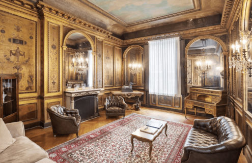 New York's 'last Gilded Age mansion' hits the market for $50m