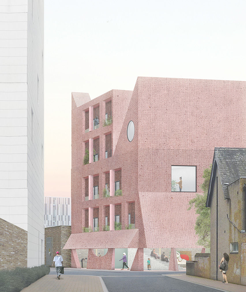 Perry Place Apartments: Grayson Perry And Apparata Conceive A Low-cost House For