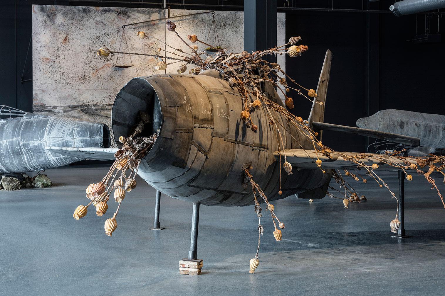 Anselm Kiefer's planes at Copenhagen Contemporary