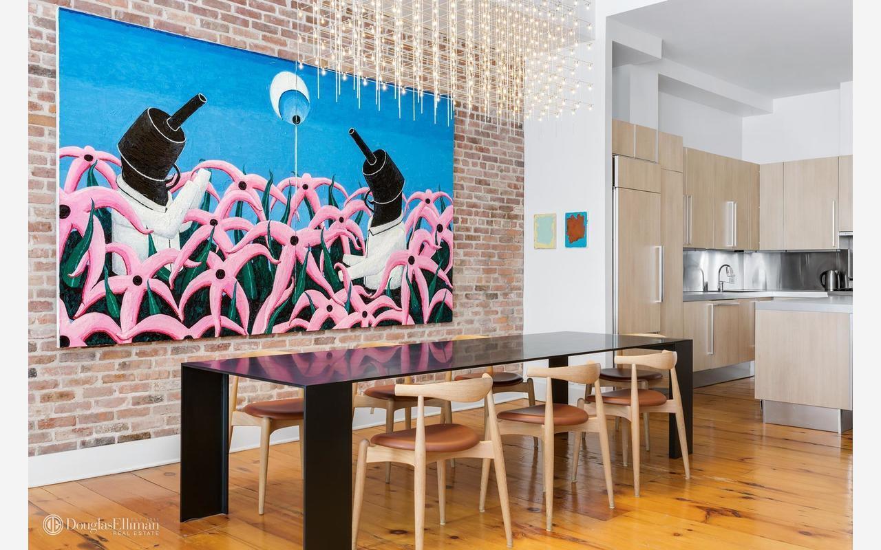 Gallerist's home for sale Manhattan