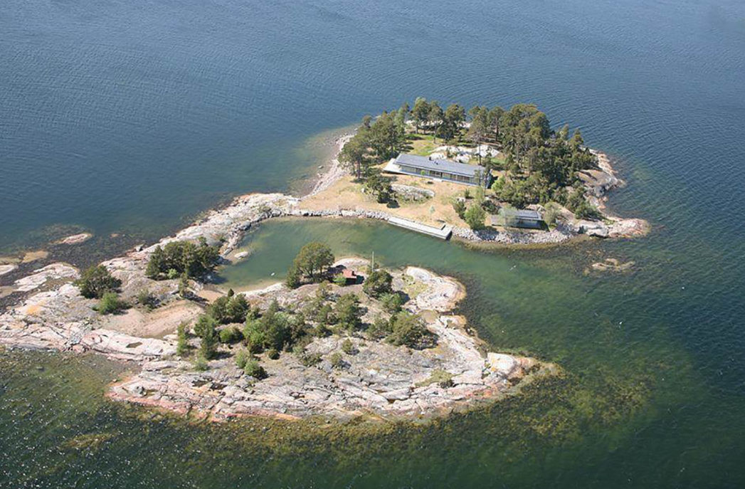 Scandinavia properties for sale: Grotskar private island