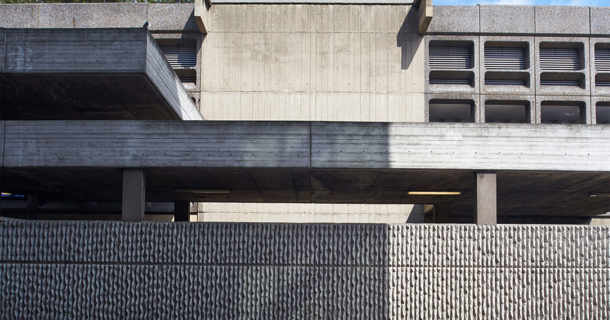 Minories Car Park Architecture