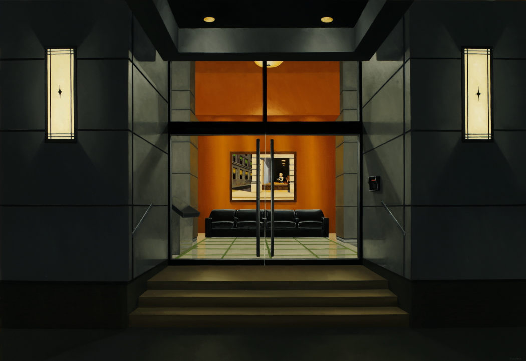 Edward Hopper Miniatures Hang Inside These Paintings Of