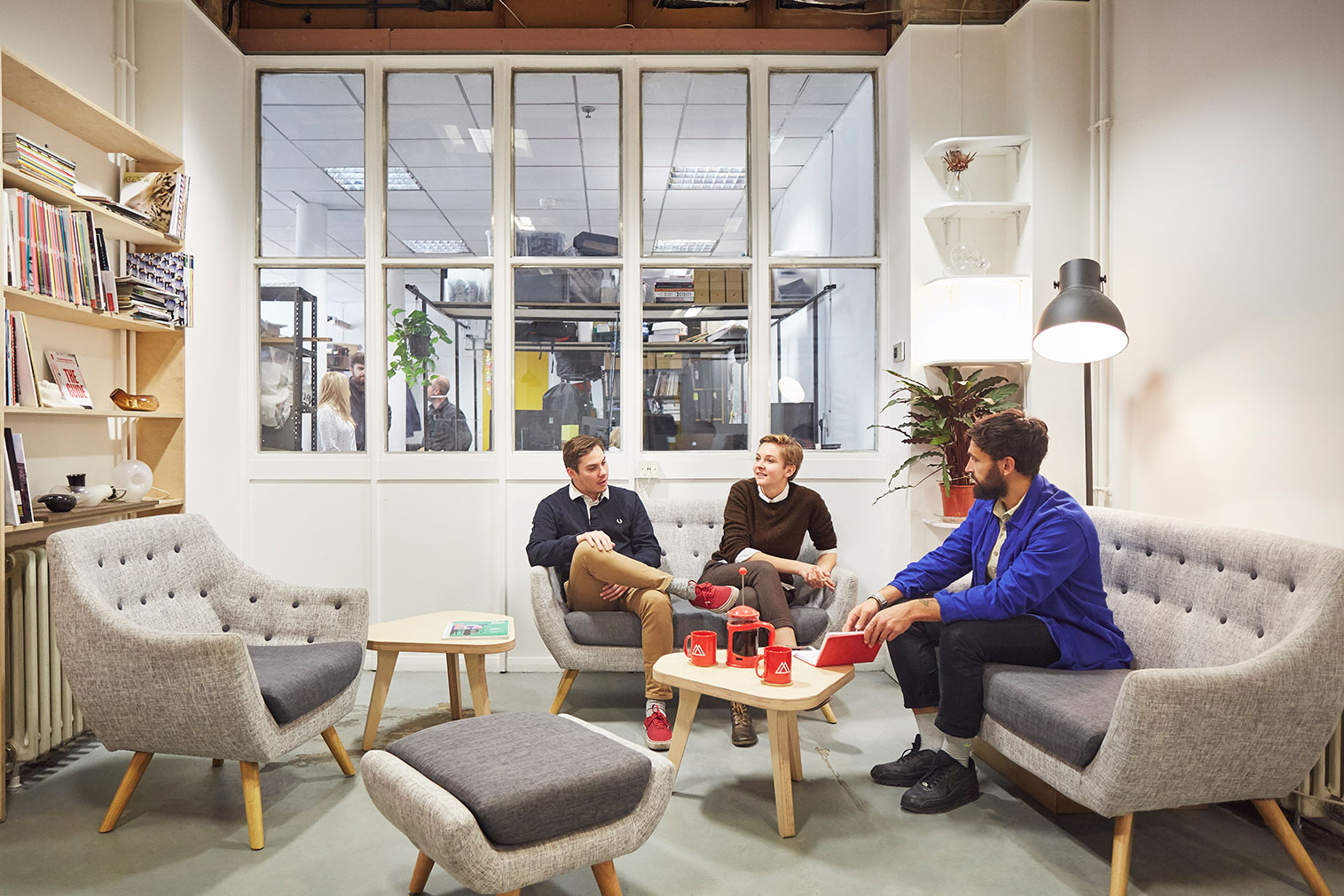 London coworking spaces at Makerversity