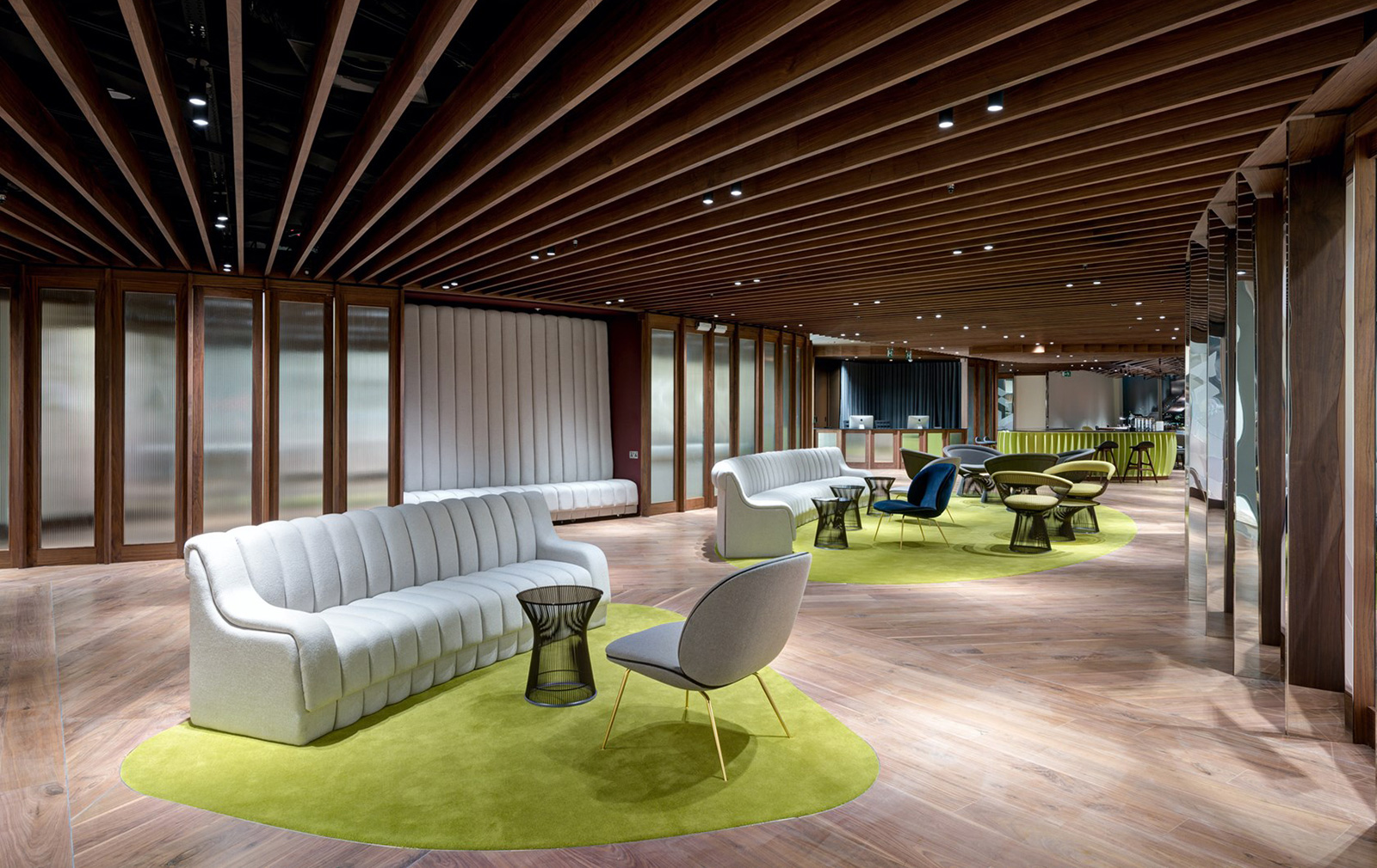 London coworking space at The Shard, created by The Office Group