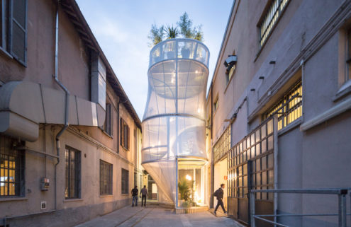 SO-IL creates a tiny home prototype for MINI Living in Milan