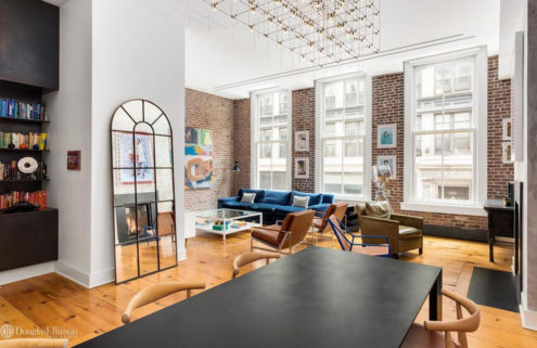 A gallerist's apartment hits the market in Manhattan for $3.5m