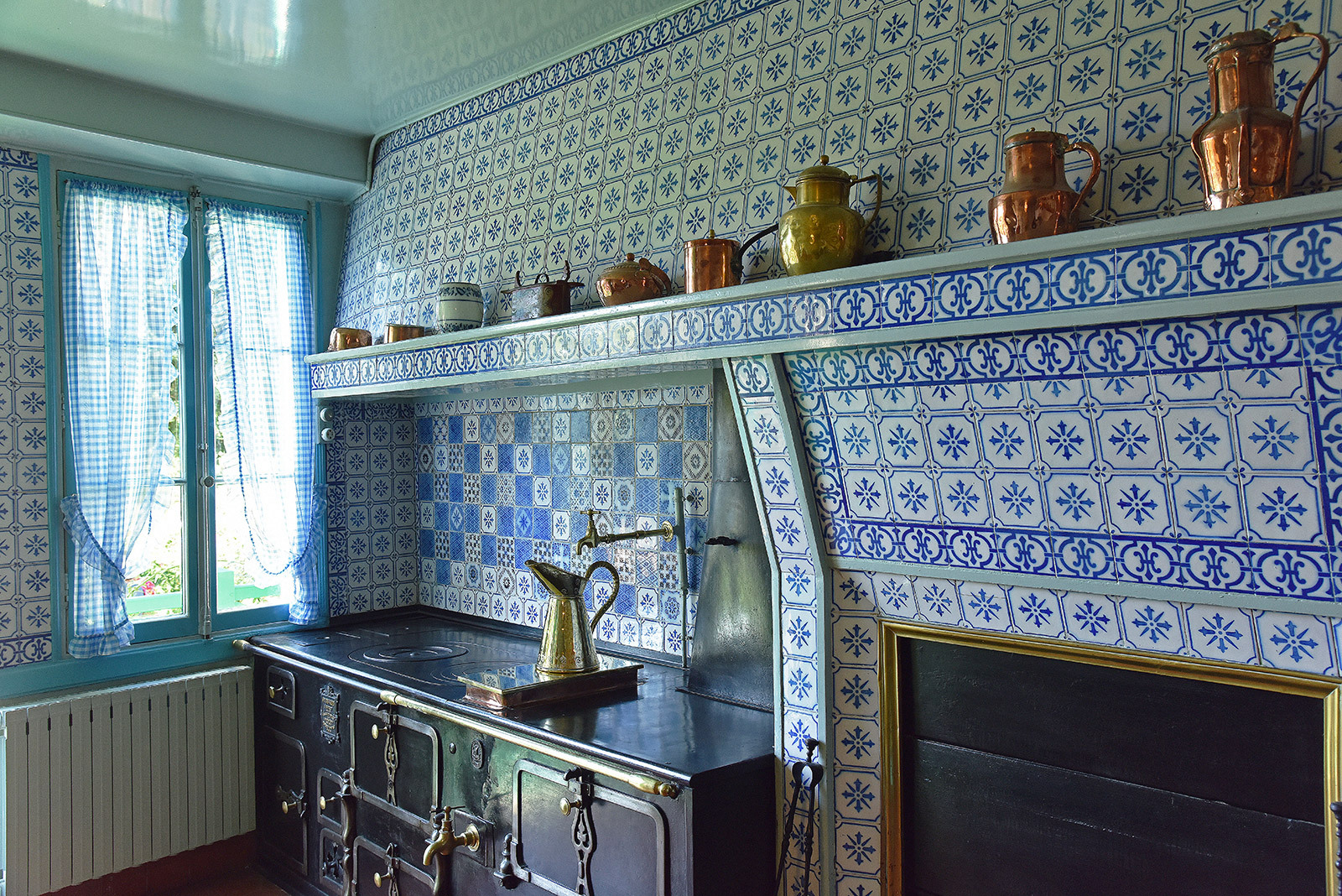 Artists homes you can visit: Monet's kitchen