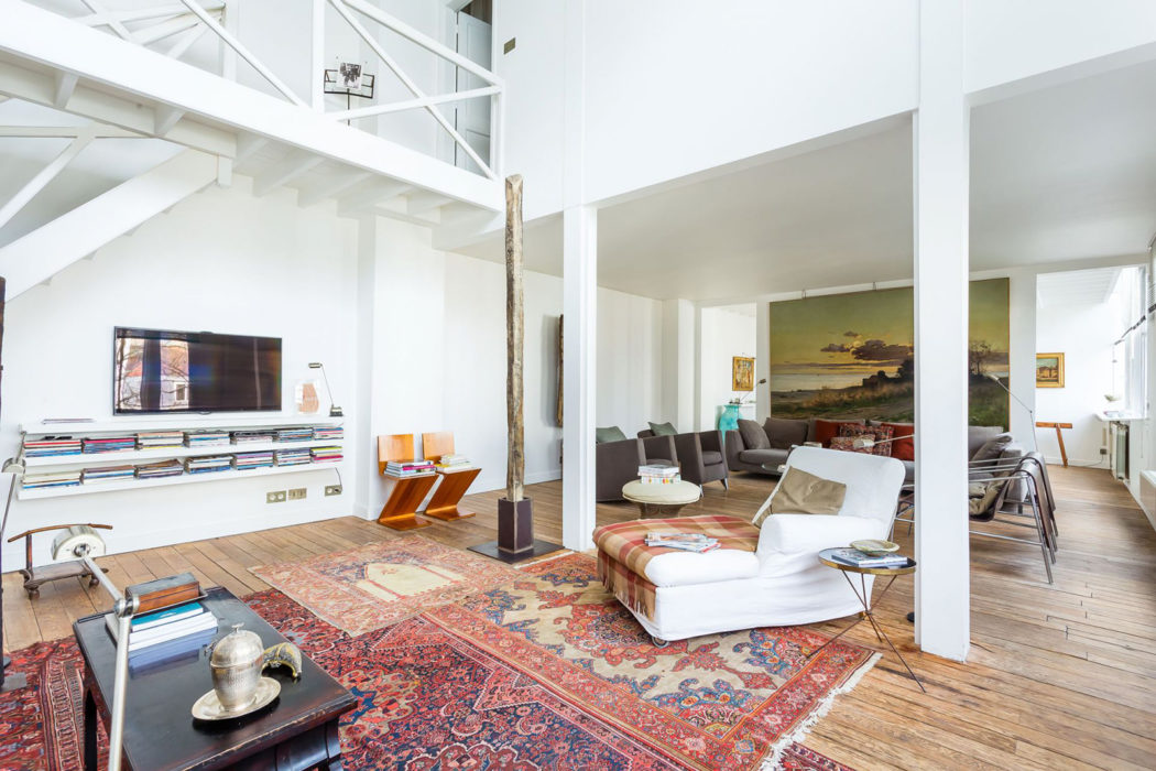 Light Filled Warehouse Conversion Hits The Market In Paris For The S