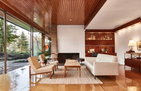 Restored Richard Neutra landmark hits the market in Philadelphia for $2.2m