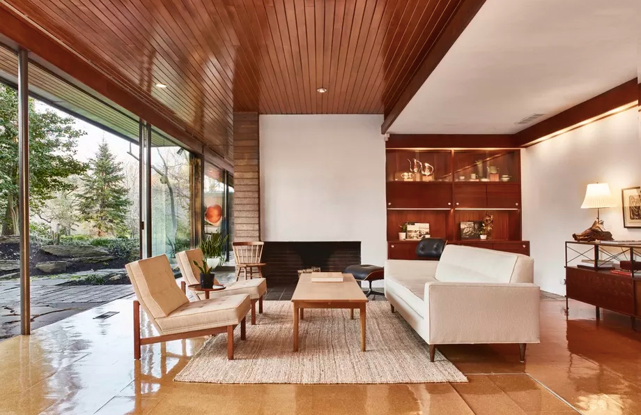 American Living Room Interior