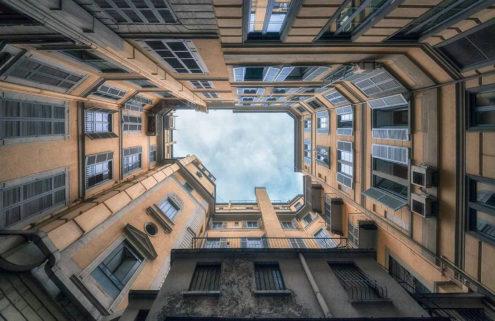 Seth Vane shoots Italy's hidden courtyards