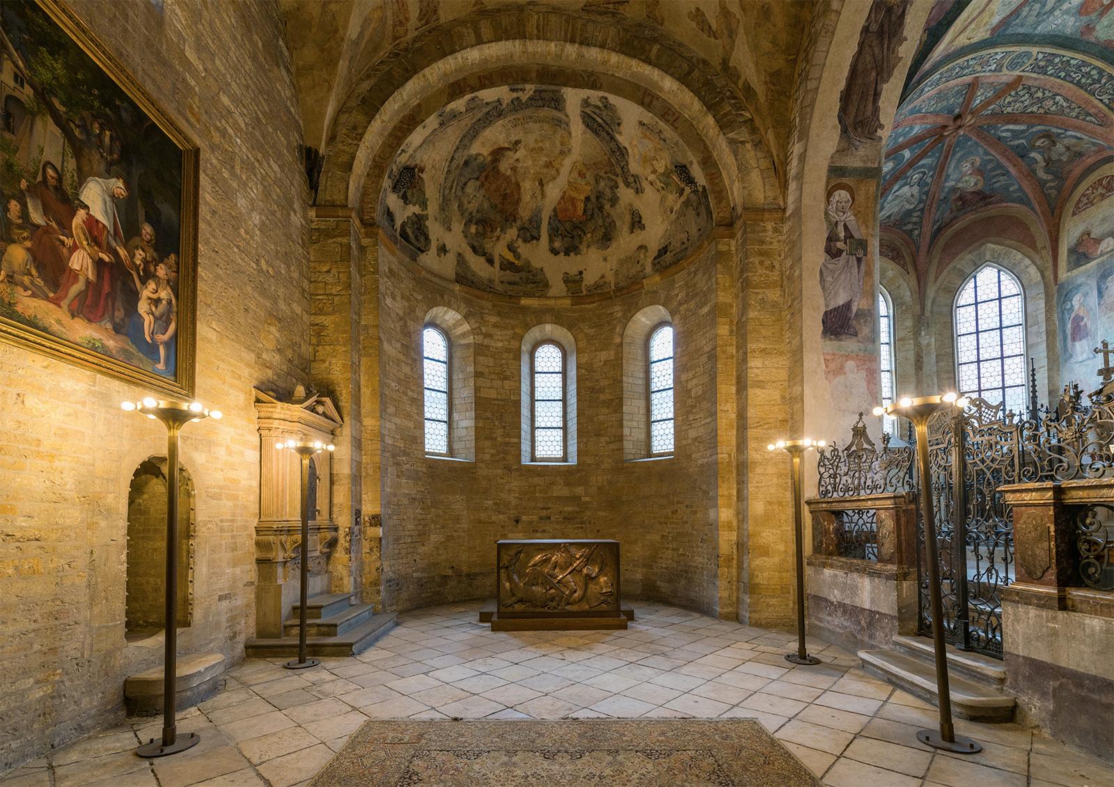 St George's Basilica interior