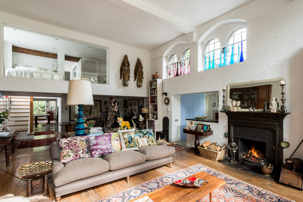 Property of the week a victorian school conversion in london - The modern apartment in the old school ...