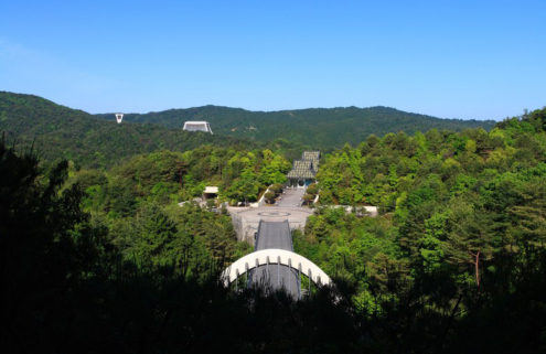 Louis Vuitton will stage its cruise show at IM Pei's Miho Museum