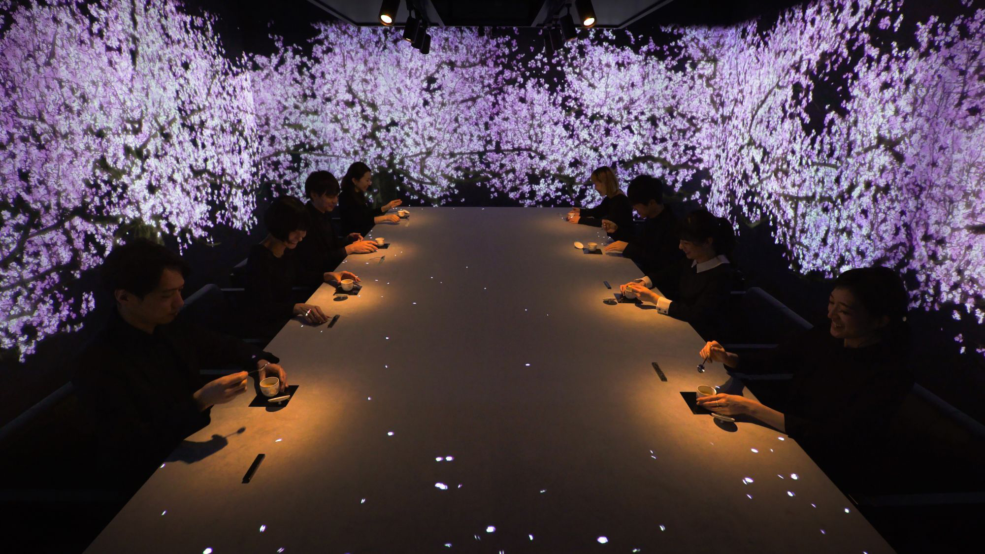 Plates Spring To Life In Teamlab S New Tokyo Restaurant
