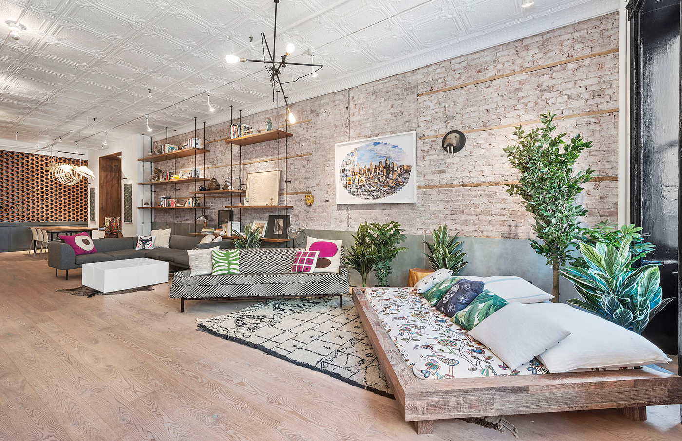 Lowline founder james ramsey s manhattan loft goes on sale for Loft in manhattan for sale