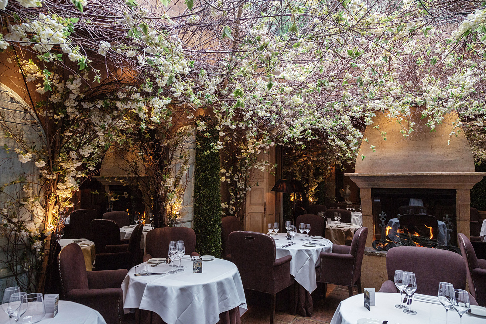 London restaurants with gardens – Clos Maggiore