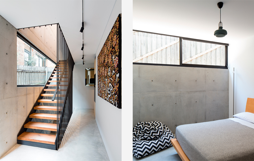 Concrete House in Sydney by MCK Architecture