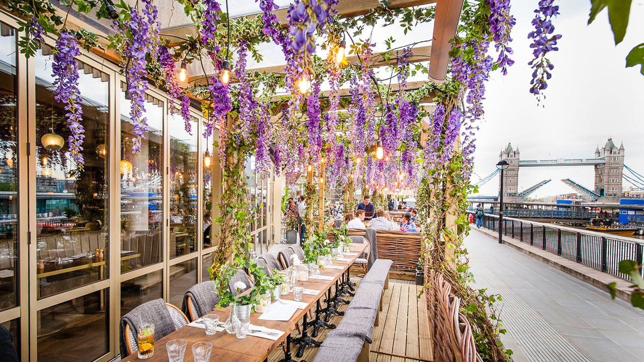 London restaurants with gardens – Coppa Club