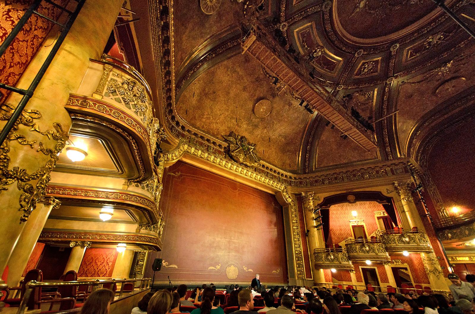 Doors Open Toronto - inside the Elgin Theatre
