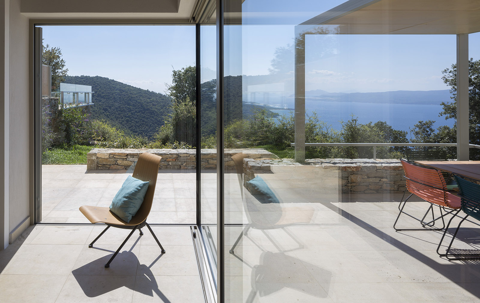 Greek Holiday Home to Rent - Kechria Villas by architect Nikitas Hatzimichalis