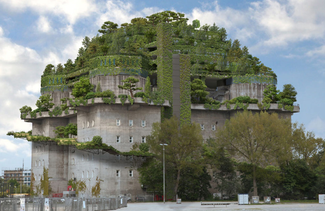 Hamburg Wwii Bunker To Become A Green Mountain